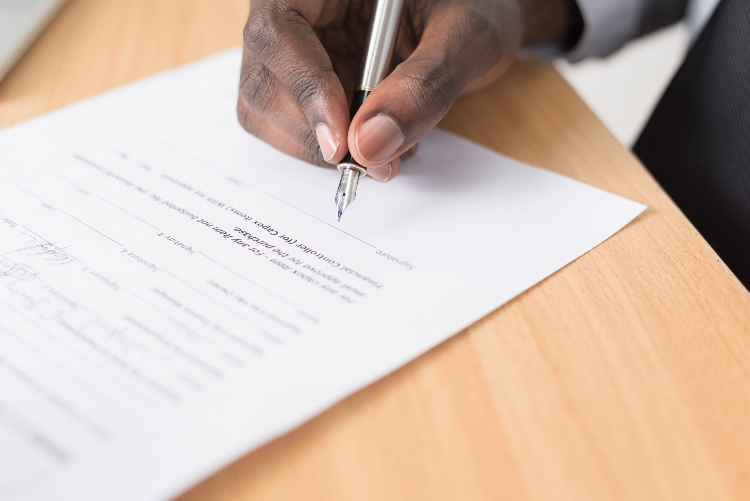 Signer le compromis de vente